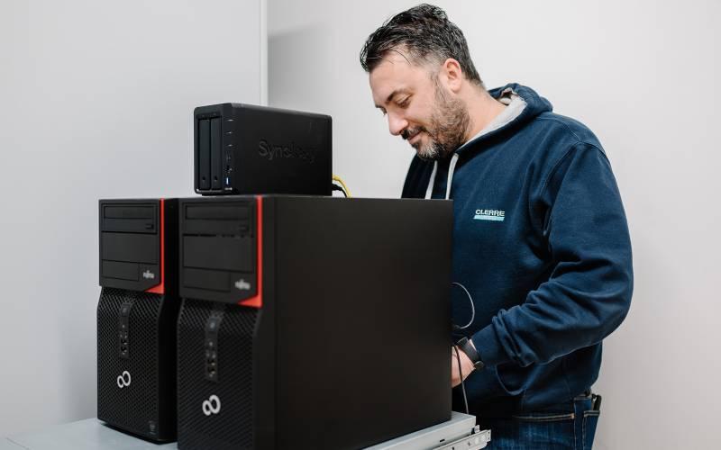 Ci.Erre ufficio forniture informatiche vendita noleggio computer aziendali