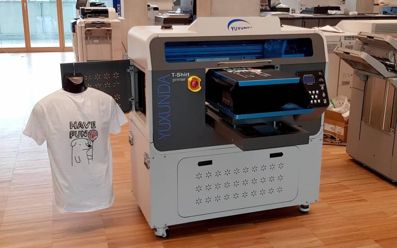 Ci.Erre Ufficio stampa magliette tessuto DTG
