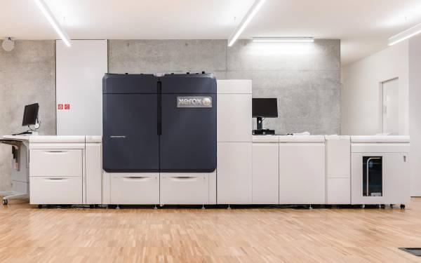 Ci.Erre Ufficio stampante di produzione piana xerox