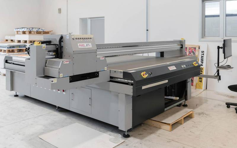 Ci.erre Ufficio stampante di produzione piana grande formato plotter